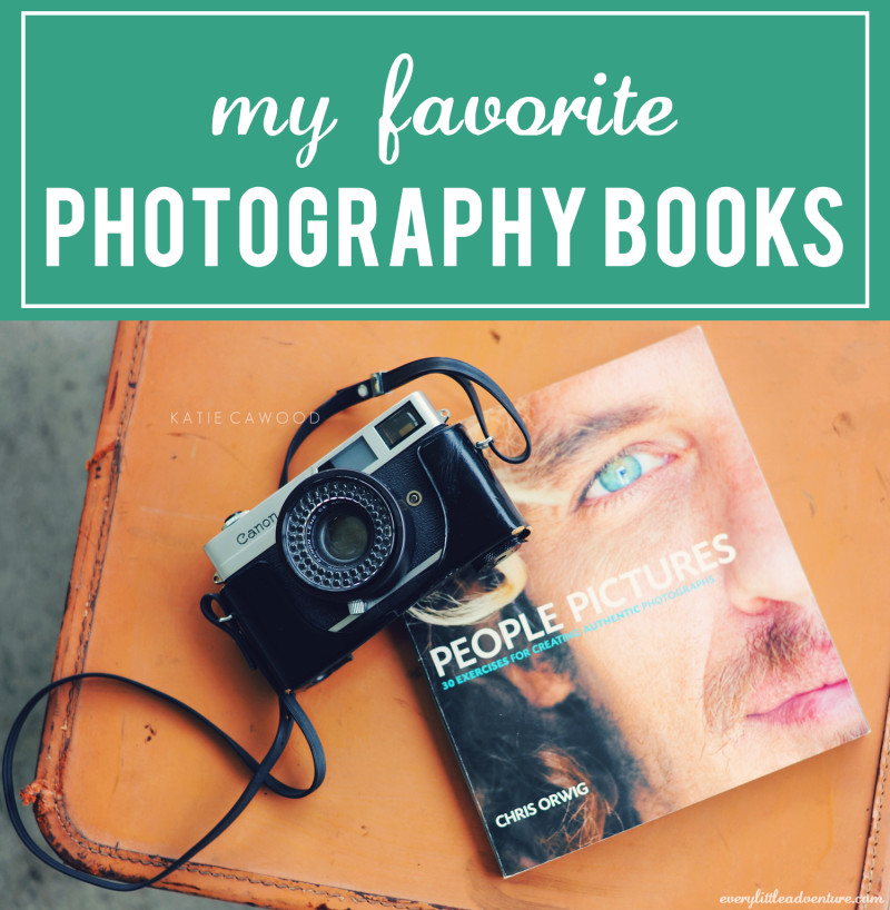 my favorite photography books | every little adventure