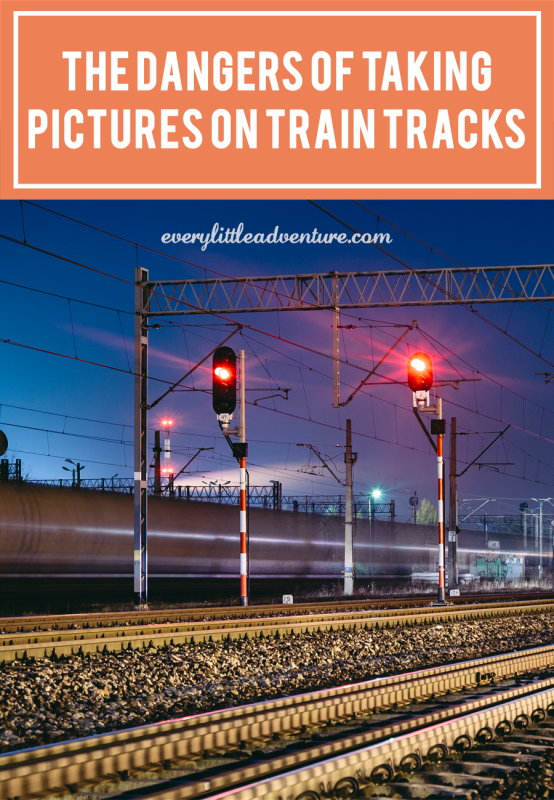 The Dangers of Taking Photos on Train Tracks