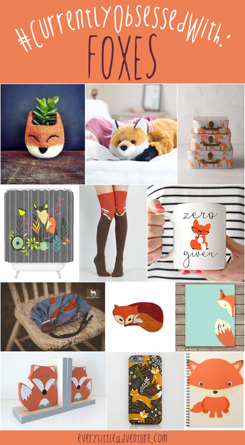 Currently Obsessed with Foxes | Fox Mug, Planter, Camera Strap, & Other Gifts!