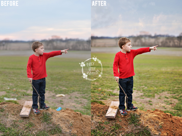 Before & After: Quick Photoshop Edit