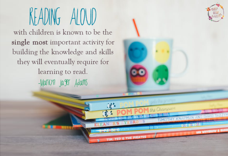 Reading aloud is important