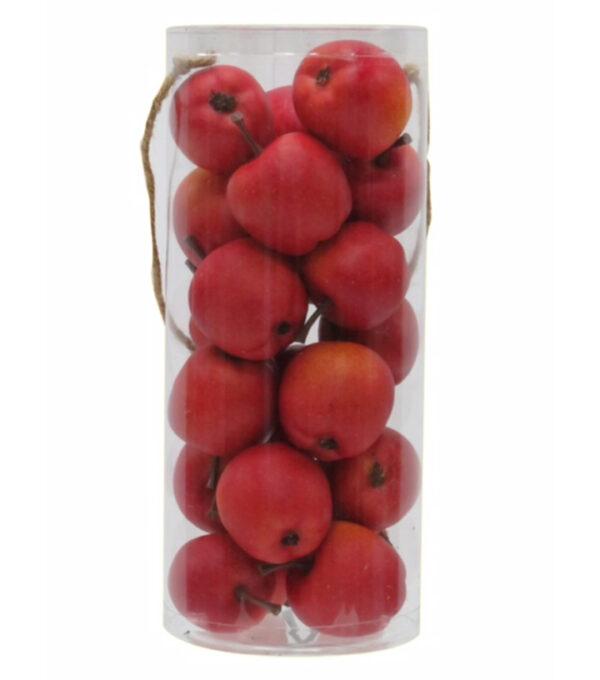 apples sensory bin