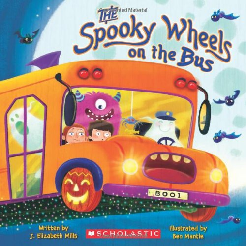 Halloween books for preschoolers by Every Little Adventure