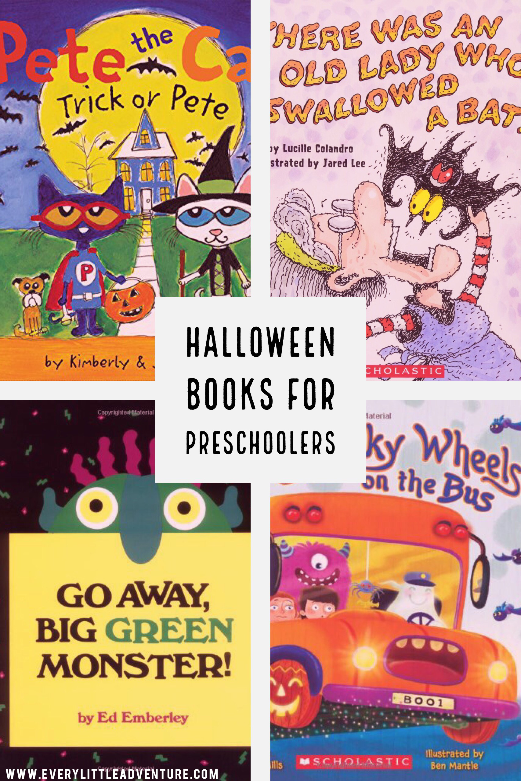 Halloween Books for Preschool