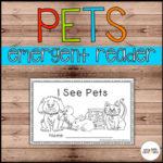 Pets Emergent Reader - Preschool resource