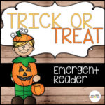 Halloween emergent reader for Preschool