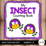 Insect Theme Counting Book for Pre-K