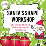 Santa's Shape Workshop: Fun shape games for Pre-K!