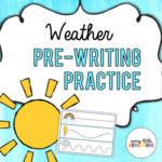 Weather pre-writing practice