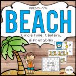 Preschool beach theme pack