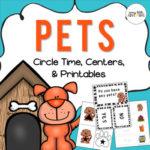 Preschool pets theme pack
