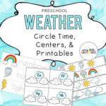 Preschool weather theme resource