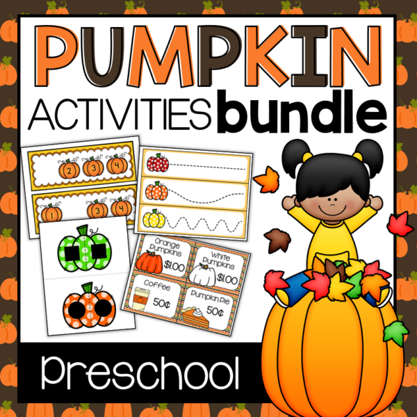 Preschool Pumpkin THeme - Pumpkin Activities Bundle