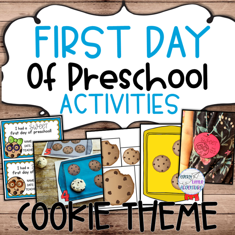 Preschool Cookie Theme