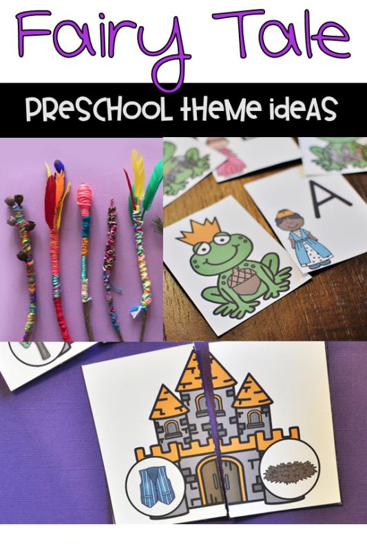 Preschool Fairy Tale Theme ideas