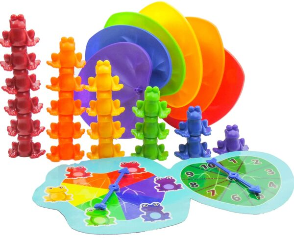 Preschool Frog Theme Counting Toy